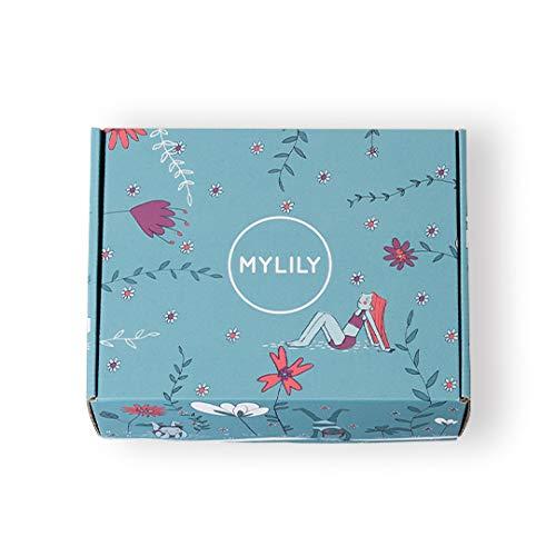 MYLILY® First Period Kit | Aufklärung für junge Frauen* | Erste Periode leicht gemacht | Bio-Periodenprodukte, Aufklärungsbuch und vieles mehr