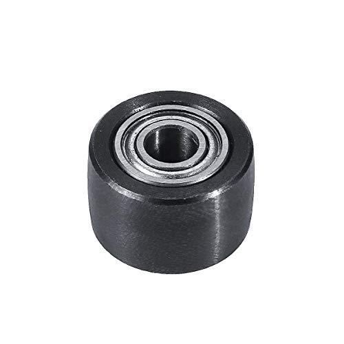 RanDal Rueda de polea loca de lijadora de disco de correa para lijadora eléctrica de lijadora de banda de 10 x 330