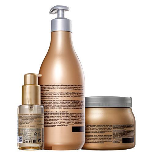 Kit L'Oréal Professionnel Serie Expert Absolut Repair Gold Quinoa + Protein Completo (3 Produtos)