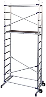 comprar comparacion FACAL Clic - andamio (Mobile scaffolding, Aluminio, Aluminio, Azul, Italia, NFE 85-200)
