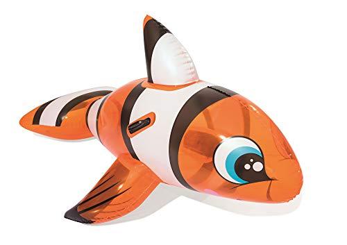 Schwimmtier Wasserspielzeug Clownfisch Clownfish aufblasbar 157cm NEU&Originalverpackt