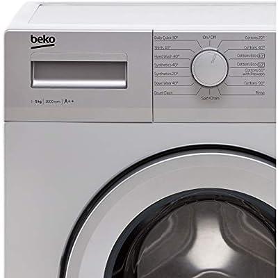 Beko WTG50M1S 5Kg Freestanding Washing Machine with 1000 rpm - Silver