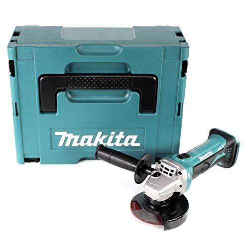 Makita 4437178 Accu-haakse slijper, 18 V, in Makpac, zonder accu en oplader