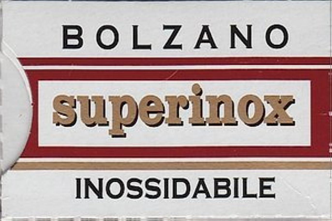 検出する無効シェードBolzano Superinox Inossidabile 両刃替刃 5枚入り(5枚入り1 個セット)【並行輸入品】