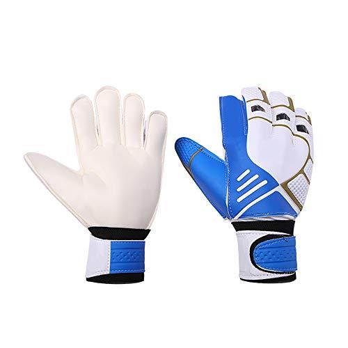 Zacheril Torwart-Handschuhe Männer-Fußball-Torhüter Wear-Resistant Anti-Rutsch-Junior Torwart-Handschuhe ausgezeichnete Schutz Fußballhandschuhe Größe von 7 8 9 Handschuhen Indoor Outdoor