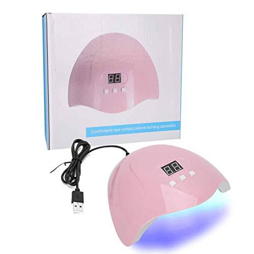 Secador de esmalte de uñas en gel, 405nm / UVLED Máquina de curado de gel de uñas de doble fuente de luz para el Día de San Valentín para un regalo perfecto