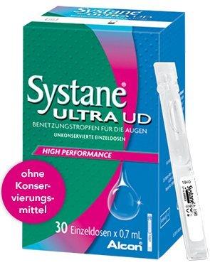 Systane Ultra UD Benetzungstropfen Spar-Set 60x0,7ml. Basispflege bei trockenen Augen und bietet eine spürbare Linderung.