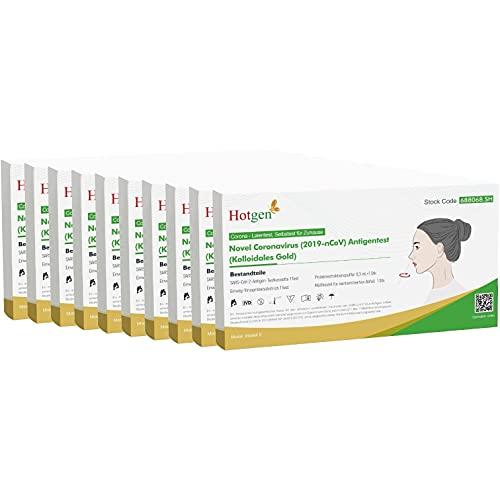 10ner Pack Corona Schnelltest Selbsttest Antigentest auf SARS-CoV-2 zur Eigenanwendung durch Laien Laientest