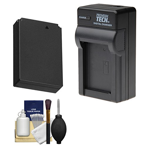 Power2000 LP-E12 Rechargeable Battery with Charger + Kit for Canon EOS Rebel SL1 & EOS-M Digital Cameras