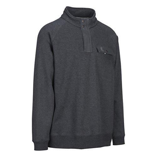 Browning Mens Boulder Sweatshirt, Heather Black, 3XL, A000275500107