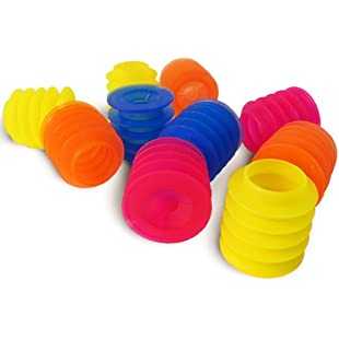 Spikey Anti Drink Spiking Stopper - Pack of 10 | Drink Spiking Prevention Bottle Stoppers