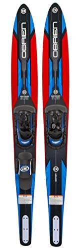 O'Brien Performer Combo Waterskis (Red)