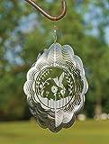 VP Home Kinetic 3D-Windspiel für den Garten, Metall Hummingbird