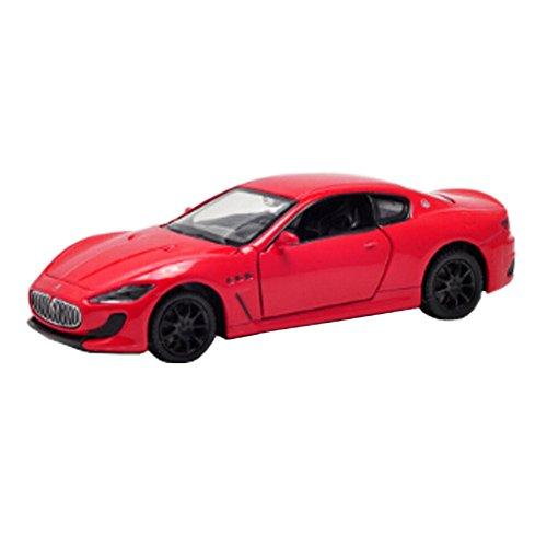 Kids Best Gift Alloy modèle de voiture modèle Toy Car Display 1: 32, rouge
