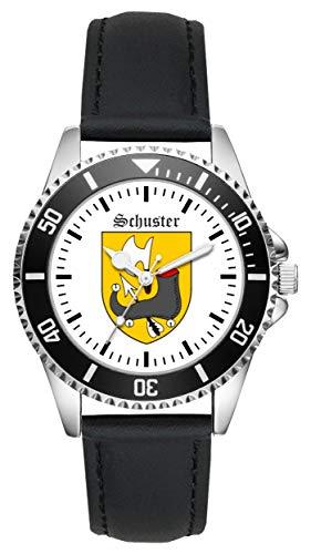 Geschenk für Schuster Schuhmacher Zunftzeichen Uhr L-1803