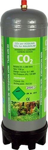 aquaristic.net CO2 Einwegflasche - JBL System ersetzt 2X u500 1 kg