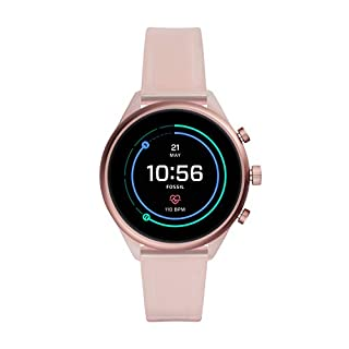 Fossil Sport Heart Rate Metal and Silicone Touchscreen Smartwatch, Color: Blush (FTW6056) (B081HR6TBW) | Amazon price tracker / tracking, Amazon price history charts, Amazon price watches, Amazon price drop alerts