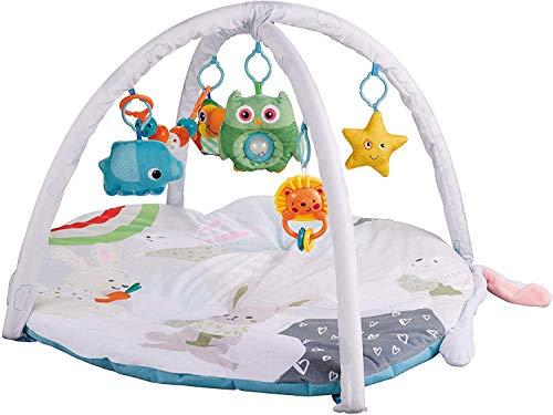 Educación de la primera tela super suave gimnasia de la actividad alfombra de juego del juguete con el colgante suave traqueteos Alfombra juguete de aprendizaje for niños de Niños y Niñas zcaqtajro