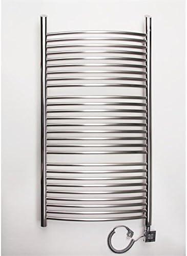 Elektrischer Handtuchheizkörper Vesuv E2 800h X 640b Edelstahl Poliert Baumarkt