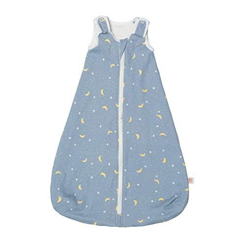 Ergobaby Ganzjahres Baby-Schlafsack Neugeborene 56-62 Baumwolle, Ganzjahresschlafsack Baby 0-6 Monate TOG 1, Stellar