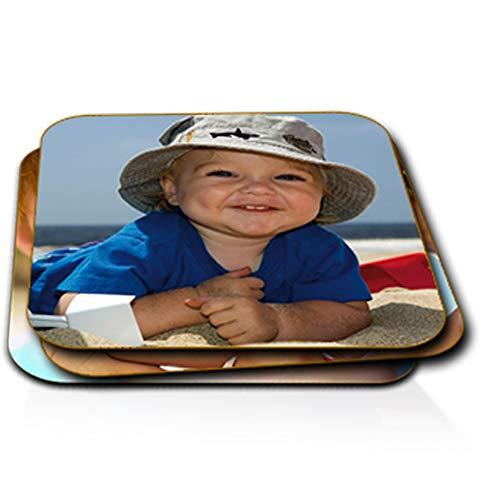 Sous-verre photo personnalisé (lot de 6, dessous de verre carré)