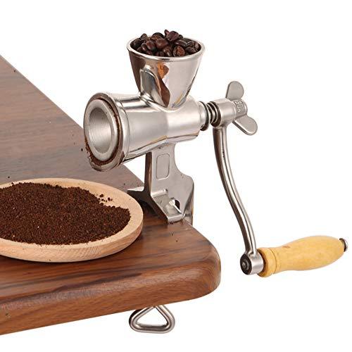 TXYFYP Handgetreidemühle Kornmühle,Handkaffeemühle für Getreide Kaffee Korn Malen,Handmühle Getreidemühle Mohnmühle Schrotmühle Kaffeemühle Nussmühle