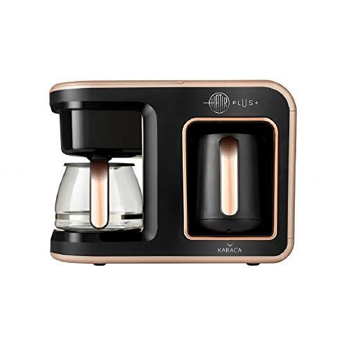 Karaca Hatır Plus 2 in 1 Kaffeemaschine Rosie Braun