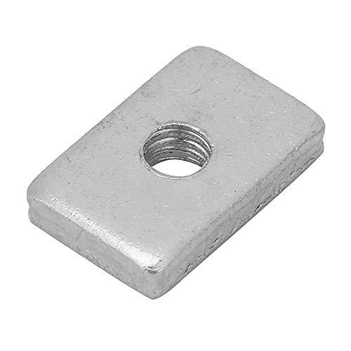 Placa intermedia de placa intermedia, Z042A Placa intermedia de placa intermedia para conectar y fijar el bloque central