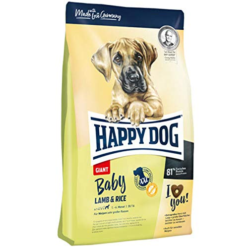 Happy Dog Baby Giant Lamm & Reis - 15 kg
