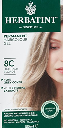 Herbatint Herbatint Light Ash Blonde Hair Colou 8C 150 ML (order 12 for trade outer)