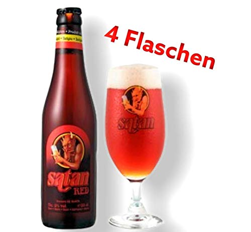 Satan Red 8,0% Original Belgisches Starkbier 0,33l Go-beer.com