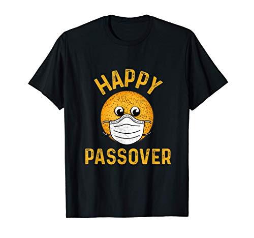 Happy Passover 2021 Matzah Wearing Face Mask Family Jewish T-Shirt