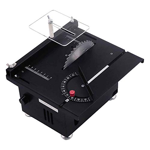 Electric Table Saw, Mini Portable Tabletop Saw...