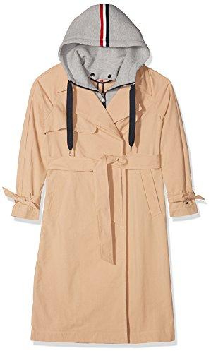 Tommy Jeans TRENCH COAT Trenchcoat Damesjas met lange mouwen
