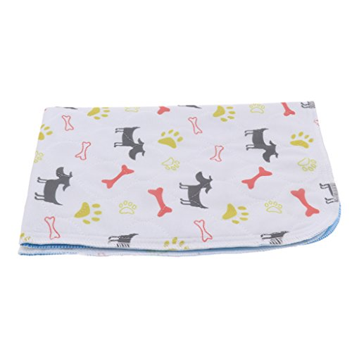 Baoblaze Saugfähige Trainingsunterlagen wasserdicht Welpenunterlagen Haustier Trainingspads für Tiere bei Inkontinenz, geeignet auch für Hunde Welpen Stubenrein Training - Typ 1 - L