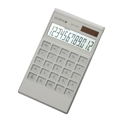 Taschenrechner Lcd-3112 weiß