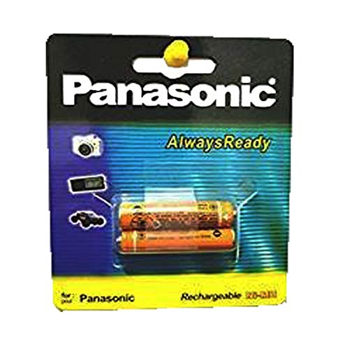 Panasonic Rechargable Ni-MH AAA Rechargable Battery For Cordless Phone And Toys (Pack Of 2 Pcs)