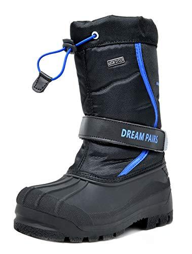 Northside Icicle Winter Unisex Boot (Toddler/Little Kid/Big Kid),Black,4 M US Big Kid