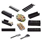 10 Uds Diy Sushi Maker Mold Rice Roller Sushi Making Kit Cocina Sushi Herramientas Sushi Herramientas De Cocina Herramientas De Cocina Bento Accesorios