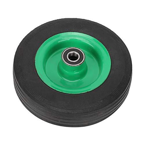 Neumático de caucho, Neumático sólido resistente al desgaste, Material de caucho Estable para ocasiones severas Una variedad de carros de herramientas Carro Carro