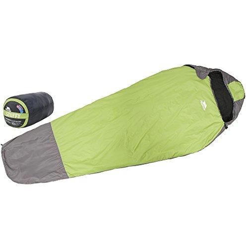 Trespass - Saco de dormir ligero mdelo Stuffy (Talla Única/Verde)