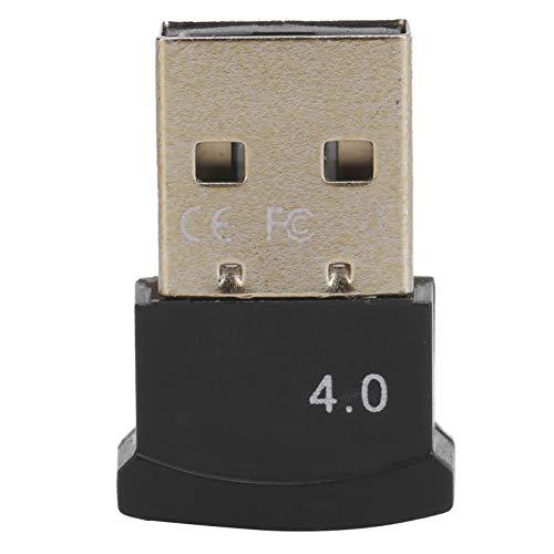 PUSOKEI Adaptador Bluetooth USB, Receptor transmisor Bluetooth inalámbrico, dongle USB de 3 Mbps, Plug and Play, Adecuado para Windows 98 / 98se / Me / 2000 / XP