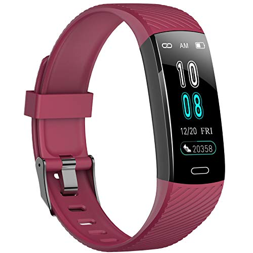 Fitness Trackers- Activity Tracker Watch with Heart Rate Blood Pressure...