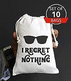 I Regret Nothing Hangover Kit Bachelorette Party Favor Hang over Gift Bags Wedding