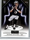 2018 Panini Playbook #183 Danny Etling Rookie RC Rookie New England Patriots NFL Football Trading Card. rookie card picture
