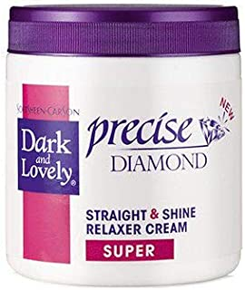 Dark and Lovely Super Straight and Shine Relaxer Cream, 450 ml