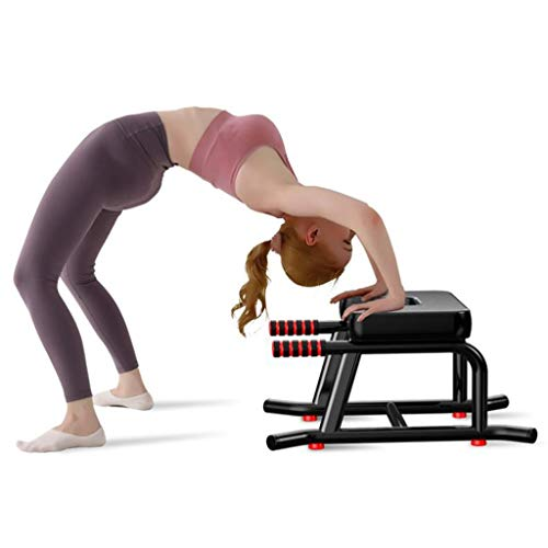 Fantastic Deal! QAZWC-A1 Headstand Bench-Yoga Inversion Chair-Yoga Stool-Ideal for Workout, Fitness ...