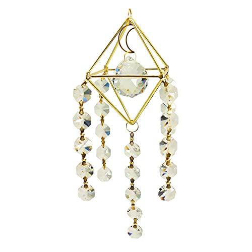 Crystal Suncatcher, Fensterbehang Baum des Lebens Dekoration Mit Kristallprismen Suncatcher Für Room Car Home Office Garden Decor