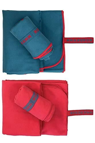 NORDKAMM Mikrofaser Handtuch (Blau)