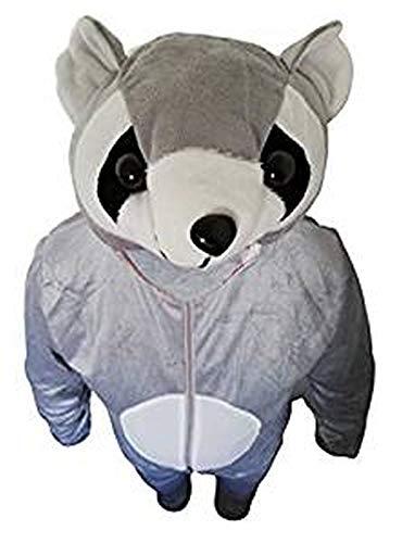 Waschbär-Kostüm, J21/00 Gr. L-XL, Fasnachts-Kostüme Tier-Kostüme, Wasch-bär Kostüme Wasch-bären Kostüme Faschingskostüm, Fasching Karneval, Faschings-Kostüme, Geschenk Erwachsene